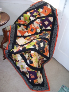 Monster Bash quilt