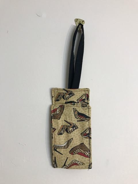 shoe luggage tag